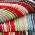 Organic Unisex Knitted Baby Blanket