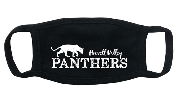Howell Valley Panthers Face Mask