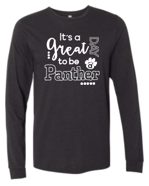 It's a great day to be a Panther Long sleeve