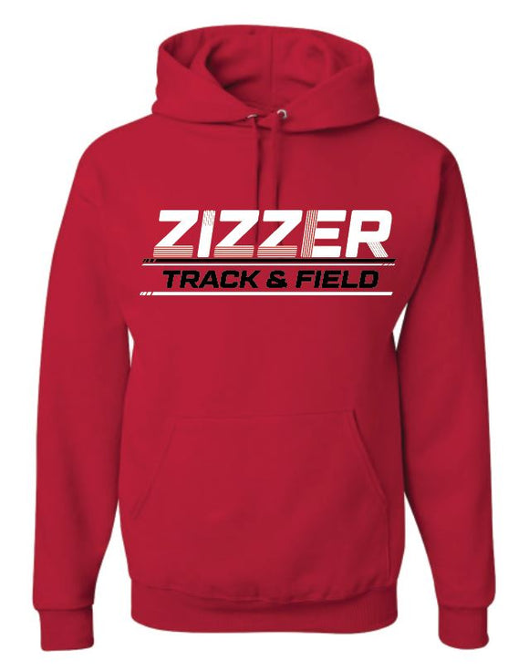 Zizzer Track and Field Hooded sweatshirt