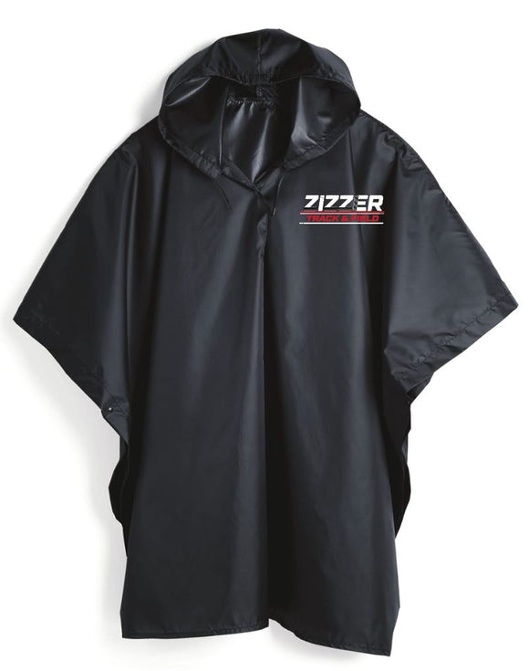 Zizzer track and field poncho