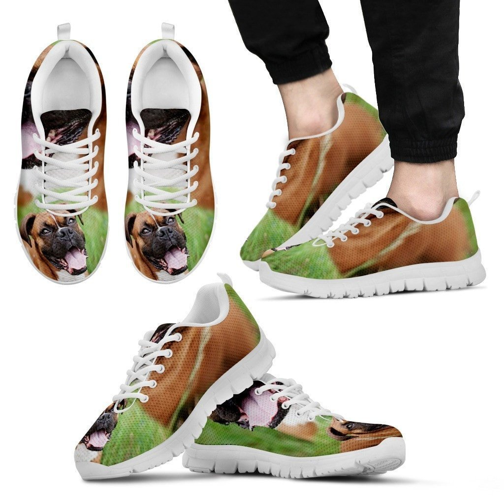 Boxer Dog-Running Shoes For Men -Express Shipping