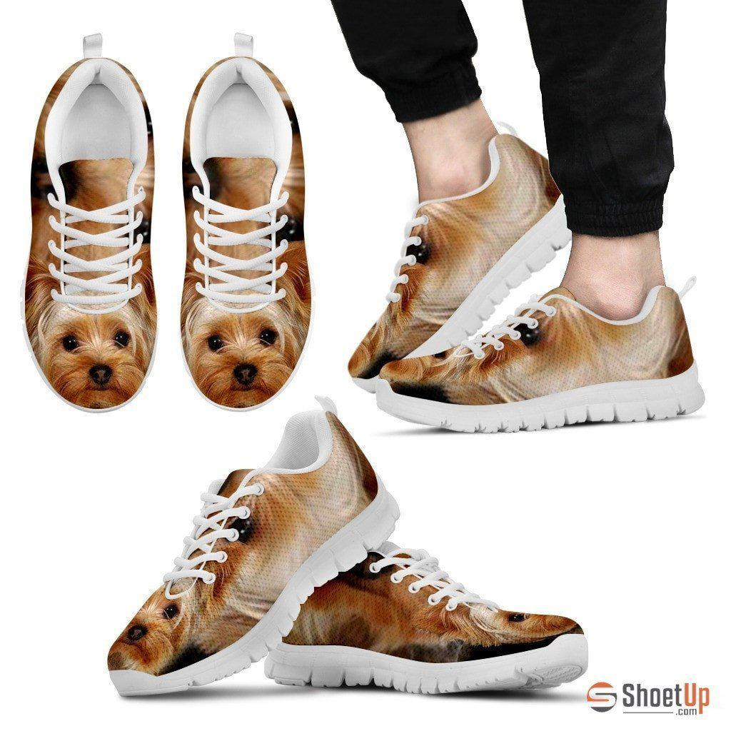 Yorkshire Terrier-Men's Running Shoes-Free Shipping