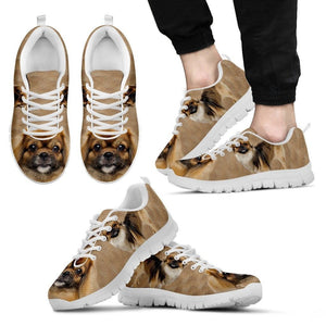 Tibetan Spaniel Dog Running Shoes For Men-Free Shipping
