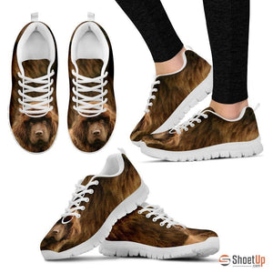 Newfoundland-Dog Running Shoes For Women-Free Shipping
