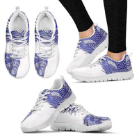 Blue Horse-Men And Women's Running Shoes-Free Shipping