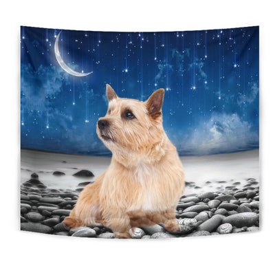 Norwich Terrier Dog Print Tapestry-Free Shipping