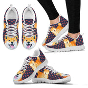 Valentine's Day Special-Shiba Inu Dog Print Running Shoes For Women- Free Shipping