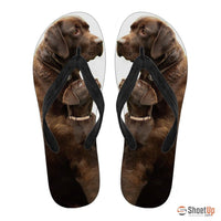 Amazing Labrador Flip Flops For Women-Free Shipping