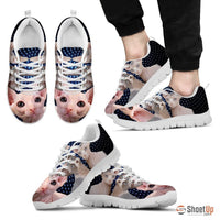 Sphynx Cat Print Running Shoes For Men-Free Shipping