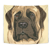 English Mastiff Dog Print Tapestry-Free Shipping