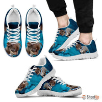 Cute Chihuahua Dog-Men's Running Shoes-Free Shipping