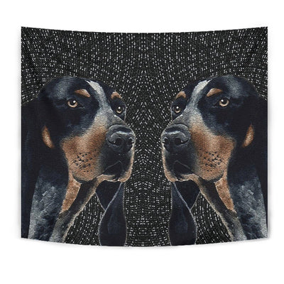 Amazing Bluetick Coonhound Print Tapestry-Free Shipping