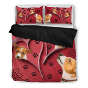Valentine's Day Special-Basenji Dog Print Bedding Set-Free Shipping