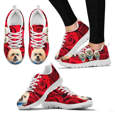 Customized Dog Havanese Print Running Shoes For Women-Express Shipping