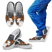 Ibizan Hound Dog Slip Ons For Kids-Free Shipping