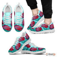 Flowerhorn Cichlid Fish Running Shoes For Men-Free Shipping Limited Edition