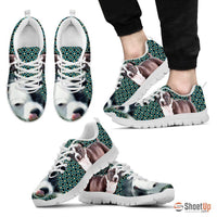 American Staffordshire Terrier-Dog Running Shoes For Men-Free Shipping Limited Edition