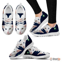 Oriental Cat Print Running Shoes For Women-Free Shipping