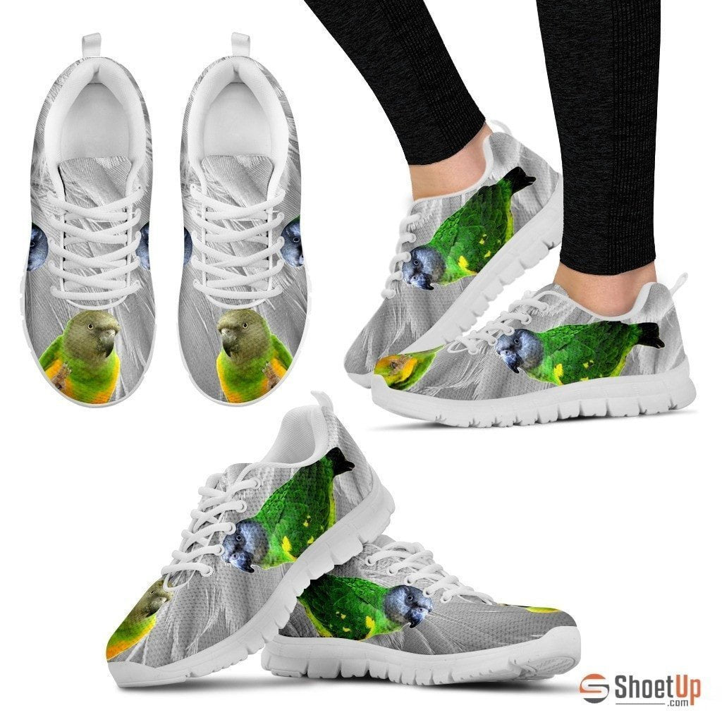 Senegal Parrot Running Shoes For Women-Free Shipping