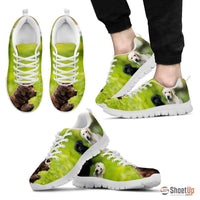 Amazing Labrador-Dog Running Shoes For Men-Free Shipping
