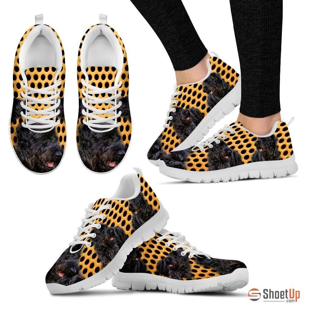 Kerry Blue Terrier-Dog Running Shoes For Women Free Shipping