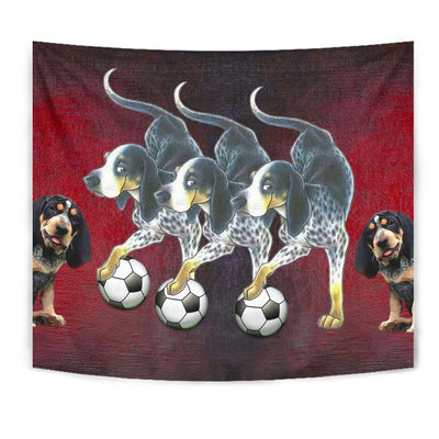 Amazing Bluetick Coonhound Dog Print Tapestry-Free Shipping