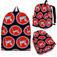 Afghan Hound Dog Print Backpack-Express Shipping