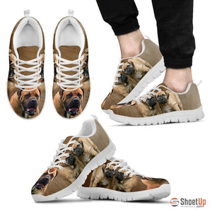 South African Boerboel Dog Running Shoes For Men-Free Shipping