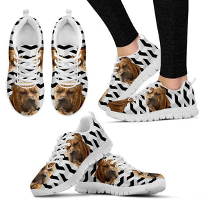 Perro de Presa Canario Dog Running Shoes For Women-Free Shipping