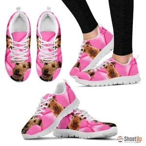 Welsh Terrier Dog Running Shoes For Women-Free Shipping