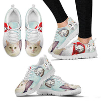 Turkish Van Christmas Running Shoes For Women- Free Shipping