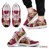 European Hamster Print (Black/White) Running Shoes For Men-Free Shipping Limited Edition