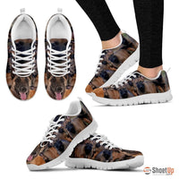 Belgian Malinois Dog Running Shoes For Women-Free Shipping
