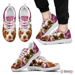 Brittany-Dog Running Shoes For Men-Free Shipping Limited Edition