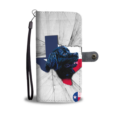 Amazing Newfoundland Dog Print Wallet Case-Free Shipping-TX State