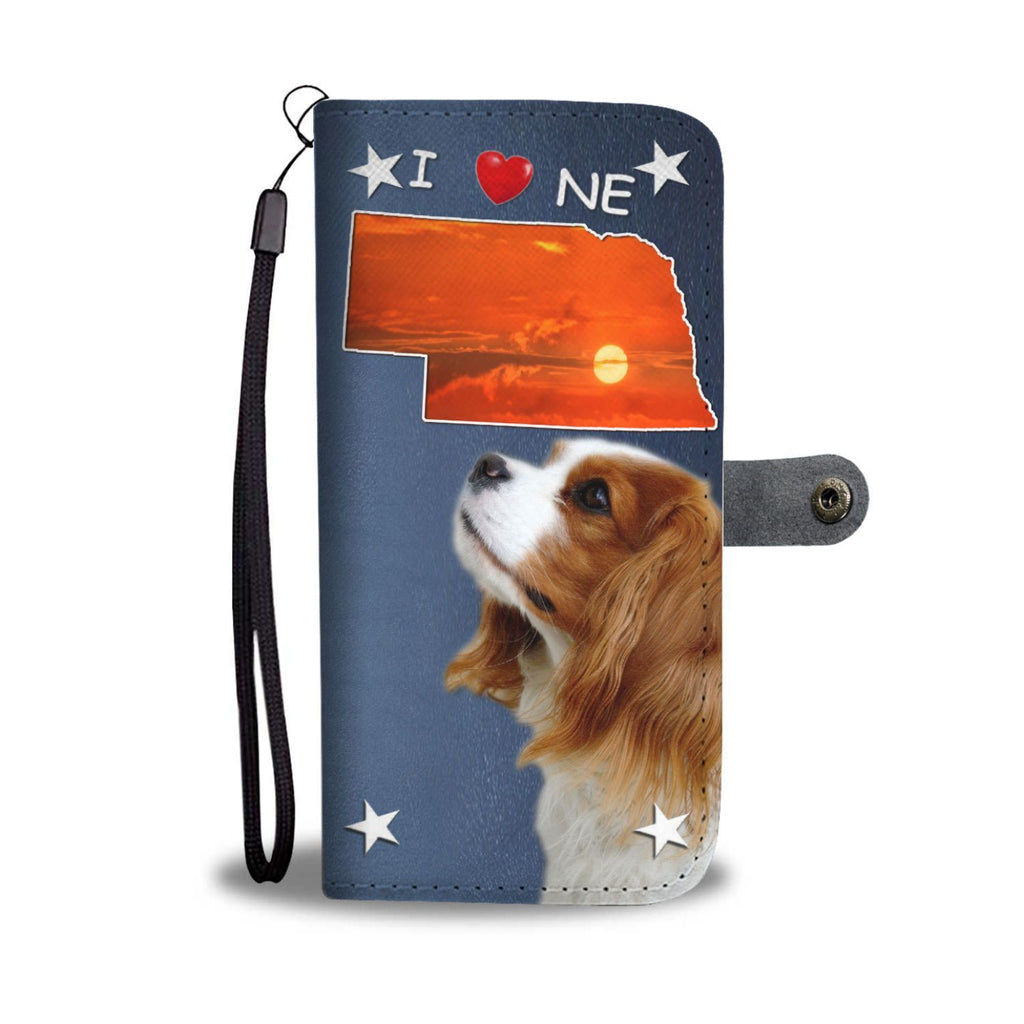Cavalier King Charles Spaniel Print Wallet Case-Free Shipping-NE State