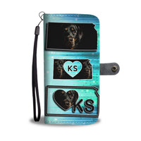 Amazing Rottweiler Dog Print Wallet Case-Free Shipping-KS State