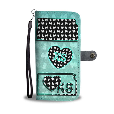 American Eskimo Dog Pattern Print Wallet Case-Free Shipping-KS State