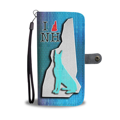 Great Dane Dog Art Print Wallet Case-Free Shipping-NH State