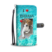 Cute Beagle Dog Print Wallet Case-Free Shipping-IN State