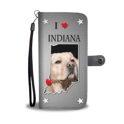 Cute Labrador Retriever Print Wallet Case-Free Shipping-IN State