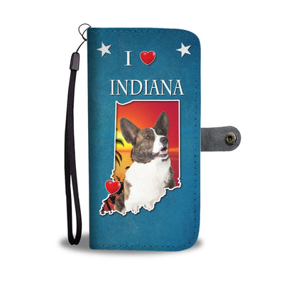 Cardigan Welsh Corgi Print Wallet Case-Free Shipping-IN State