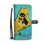 Cute Shiba Inu Dog Art Print Wallet Case-Free Shipping-ME State