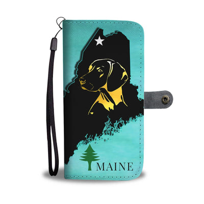 Vizsla Dog Art Print Wallet Case-Free Shipping-ME State