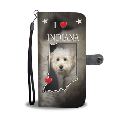 Cute Labradoodle Print Wallet Case-Free Shipping-IN State