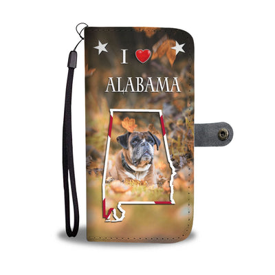 Boxer Dog Print Wallet Case-Free Shipping-AL State