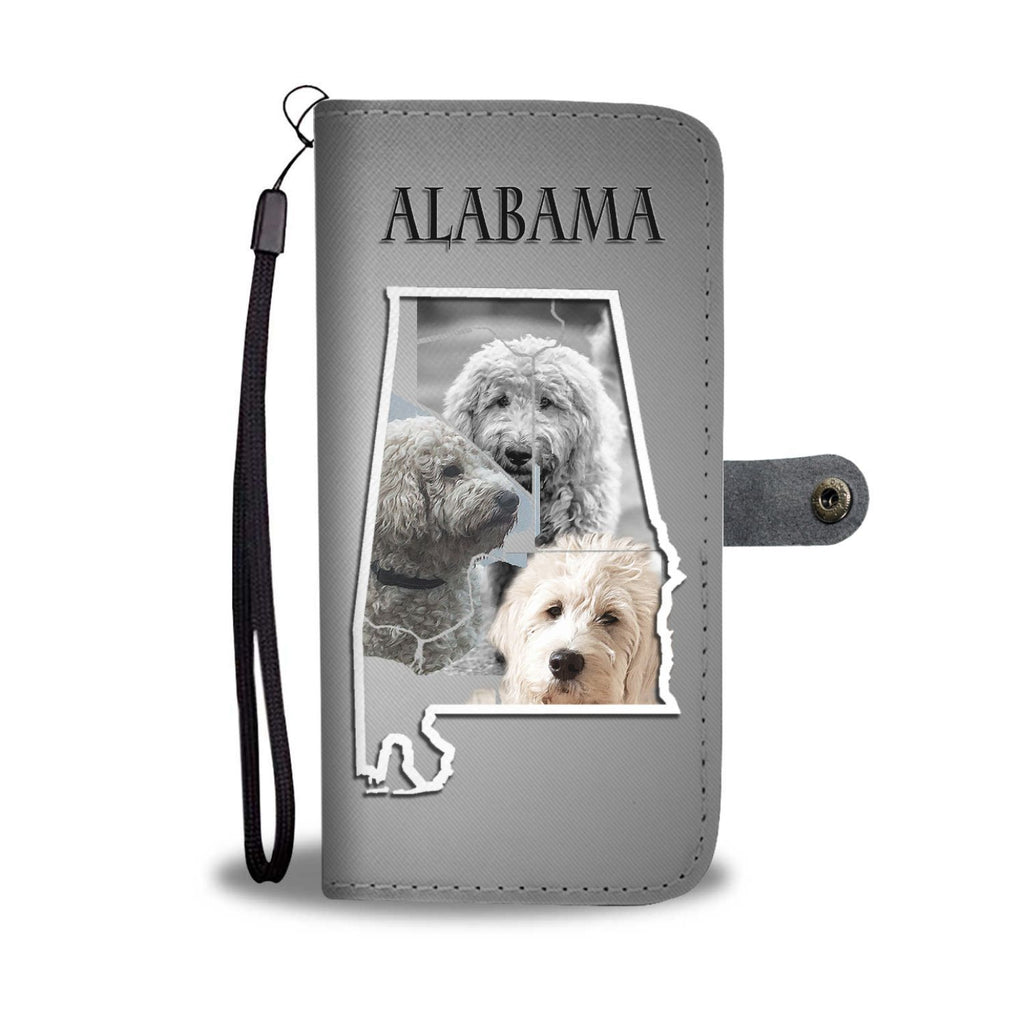 Cute Goldendoodle Print Wallet Case-Free Shipping-AL State