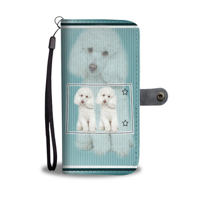Poodle Dog Print Wallet Case-Free Shipping-CO State