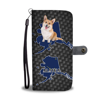 Cardigan Welsh Corgi Dog Print Wallet Case-Free Shipping-AK State